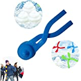 Mini Snowball Maker - Color of Your Choice - Snow Toys for Kids - Perfect for Outdoor Play and Snow Play. This Winter Outdoor Toy can be Used to Create The Ultimate Snow Game.