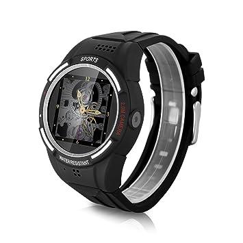 Diggro TW320D - Reloj Pulsera Deportiva GSM Smartwatch (Cámara, Llamada Recordatoria, Altitud Termómetro, Podómetro, Brújula, Compatible con Android ...