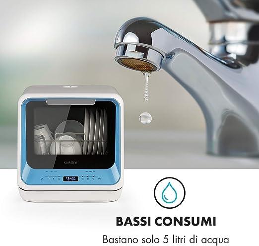 Klarstein Amazonia Mini · lavavajilla · 6 programas · consumo de ...