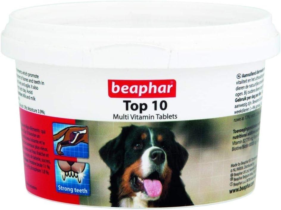 Beaphar Vitamins Dog Top 10 Vitamins 180 Tablets