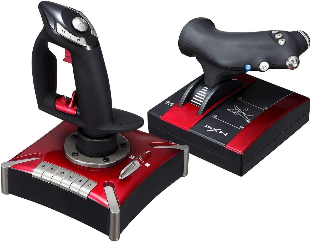 Pxn 2119ii Flight Stick Joystick Usb Simulator Gamepad Gaming Controller Für Pc Baumarkt