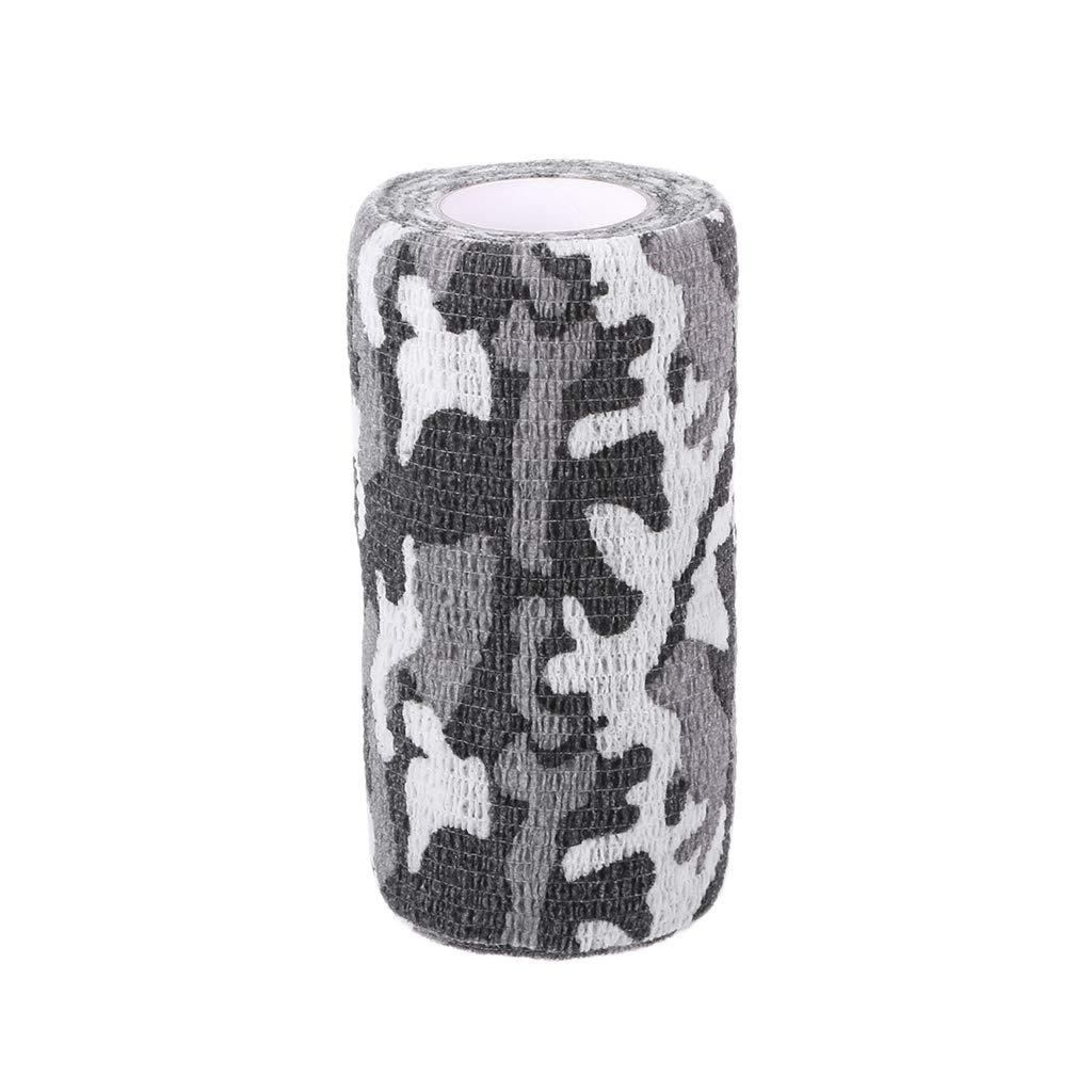 JERKKY 10cm * 4.5m Tactique Camo Bandage Chasse Tir Wrap Stealth Non-Tissé Bande Big Camo