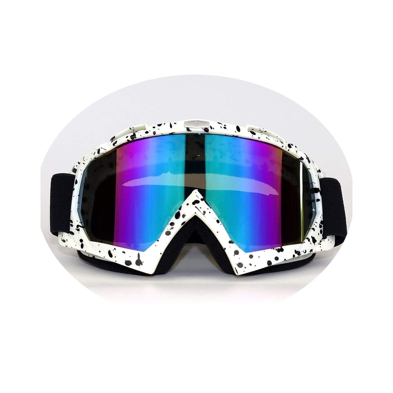 Lafeil Fahrradbrille Transparent Damen Herren Off Road Motorrad Rennbrillen Outdoor Schutzbrille Windschutzbrille Skibrille