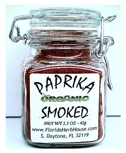 Smoked Hungarian Paprika 1.5 oz. (42g) - Organic Eco Friendly Gifts! - Eco-Spices!
