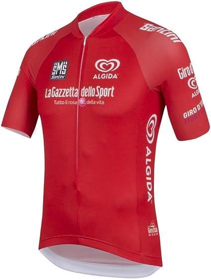 Santini Maillot Ciclismo Giro dItalia 2016 King of The Mountain Rojo S: Amazon.es: Deportes y aire libre