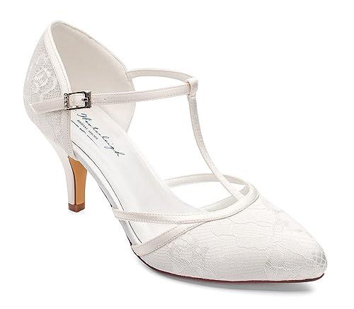 super popular 0e256 583bb G.Westerleigh Brautschuhe Hochzeitsschuhe Jasmine Ivory ...