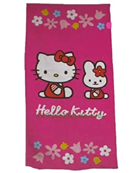 Toalla de Playa Hello Kitty-Toalla 75 X 150 cm, Piscina de 08102 *: Amazon.es: Hogar