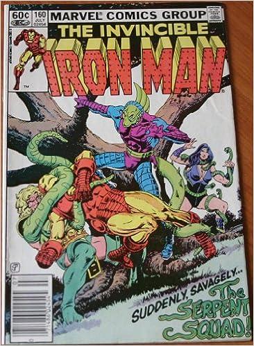 Téléchargement gratuit de livres en anglais au format pdf Iron Man Vol. 1 No. 160 (French Edition) PDF
