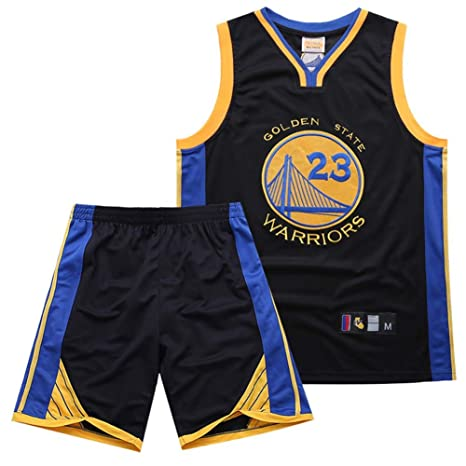 KSITH Jersey NBA Warriors # 23 Jersey Bordado Conjunto De ...