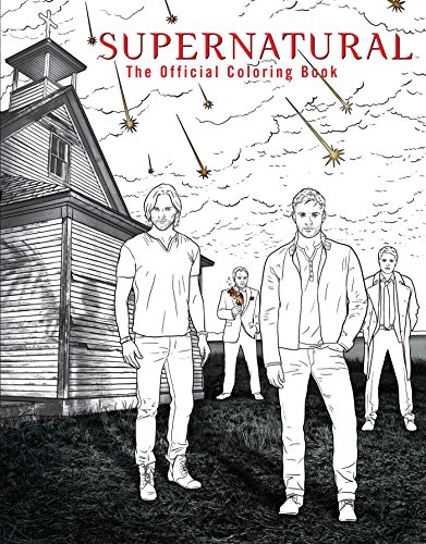 Supernatural: The Official Coloring Book cover