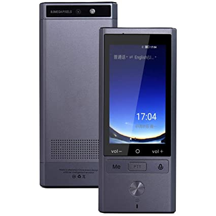 Offline Language Translator Device,Real-time Two-Way Speech/Text 3inch IPS  Touch Screen Support 75 Languages for Learning Travel Business Shopping