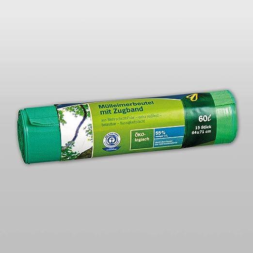 20 Stück grün Müllbeutel 30 Liter