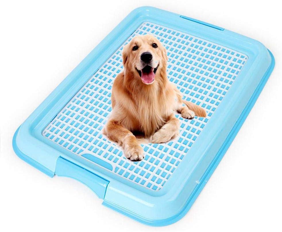 Volwco Inodoro para Perros pequeños, Desmontable, Lavable, para Entrenamiento de Cachorros, Bandeja de Malla para Orinal – Ideal para Uso en Interiores y Exteriores