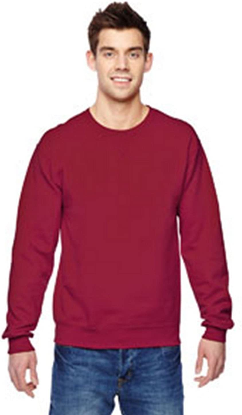 Fruit of the Loom SF72R Sofspun Sweatshirt - Cardinal - L