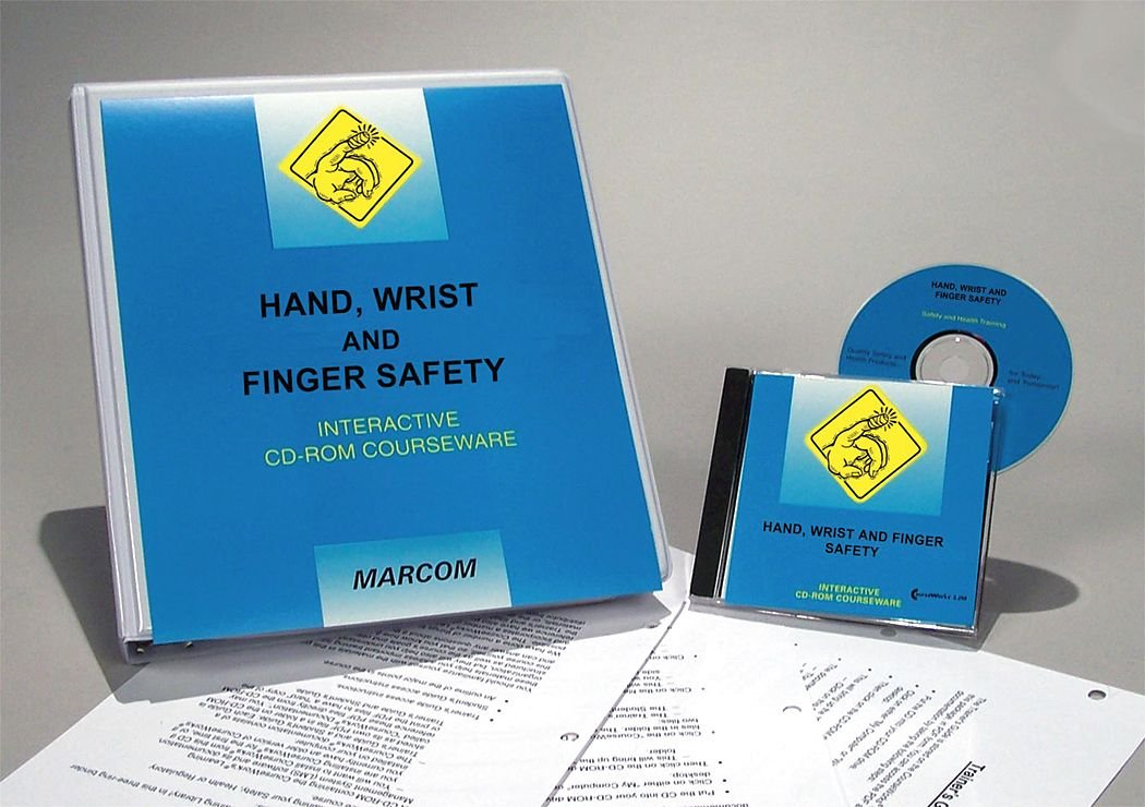 Marcom Group C0000670SD Hand Wrist and Finger Safety Interactive Training DVD, Spanish by Marcom Group (Image #1)