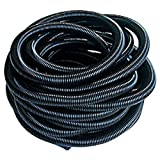Qualtex Pond Hose Tubing 1.5 Inch / 38mm 50 Ft Nuflex Anti Static Universal Garden Hose