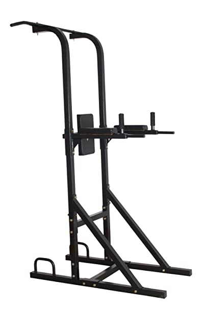 Magic Home Gym Free Standing Pull Up Bar,Parallel Bar,Dips Stationand Push Up Bar- Power Tower Strength Training Equipment at amazon