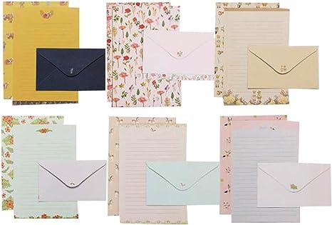 QingLanJian Cute Letter Stationary Set