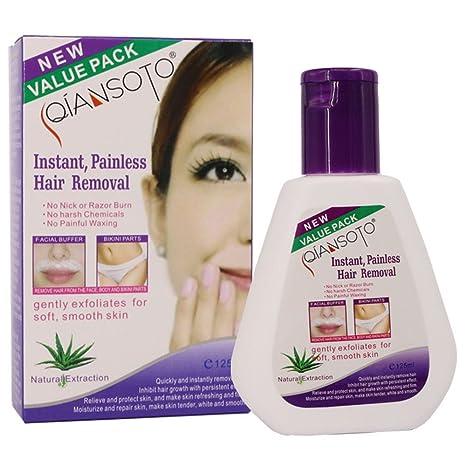 RISTHY Crema Depilatoria Mujer,Eliminación Permanent Facial ...