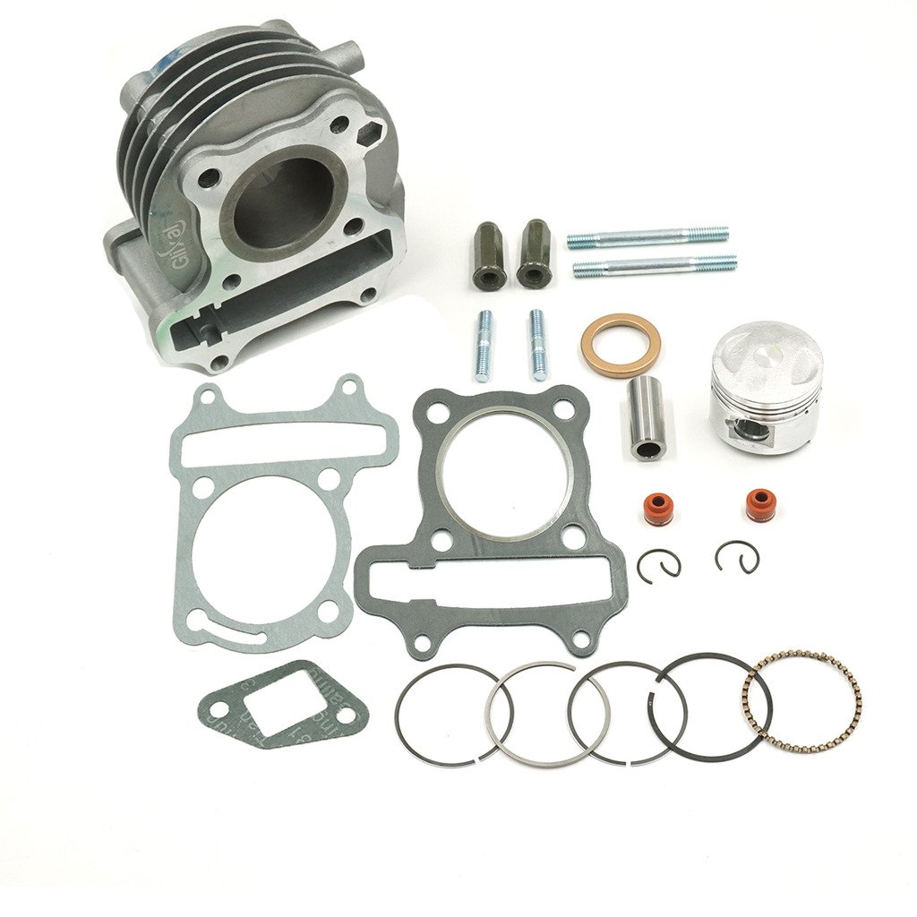 49cc 50cc GY6 39mm Cylinder Kit Piston Chinese Scooter Moped 139QMB Engine