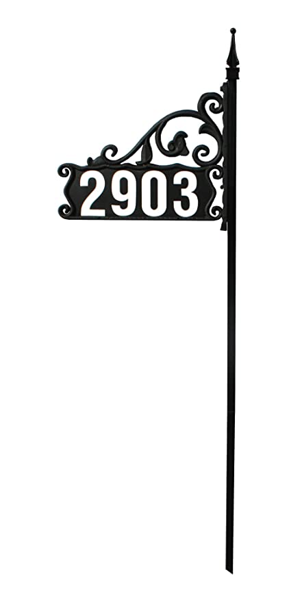 Amazon.com : Super Reflective 911 Home Address Sign For Yard On 48 ...