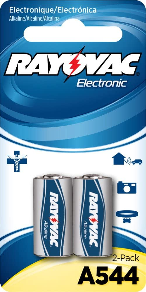 Rayovac Alkaline Keyless Entry Mercury Free Battery 0.05 Pound 2 Count