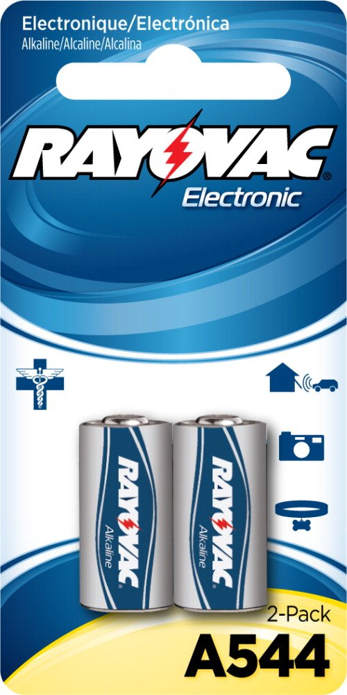 Rayovac Alkaline Keyless Entry Mercury Free Battery, 0.05 Pound, 2 Count