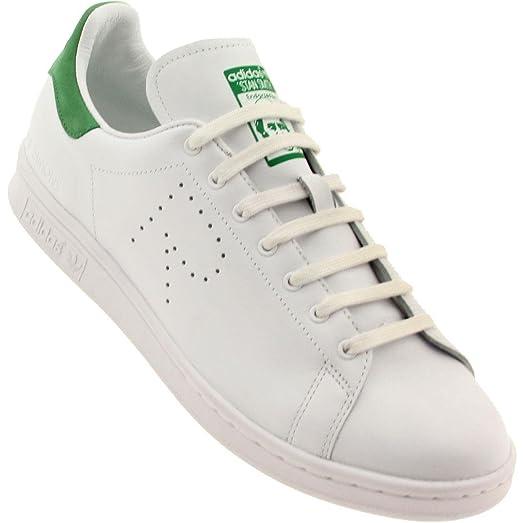 adidas männer raf simons stan smith weiß - grünen b24051