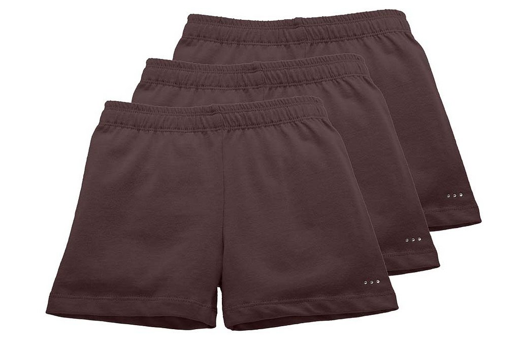 Sparkle Farms Girls Under Dress Shorts for Playground Modesty 3-pack, Sizes 3-12
