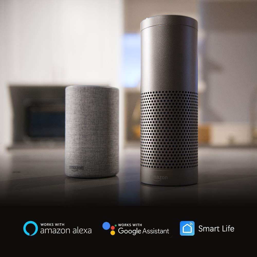 con Control Remoto Aoycocr Alexa Enchufes Smart Mini Plug Echo Dot Google Assistant no se requiere Hub 16A 3680W Smart Home Funciona con  Alexa Enchufe Inteligente Wifi