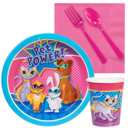 BirthdayExpress Superhero Pets Party Supplies - Snack Party Pack