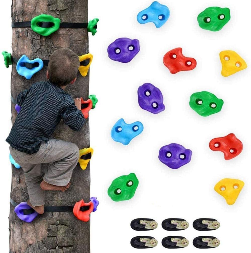 12 asas de escalada en roca para niños y 6 correas de ...