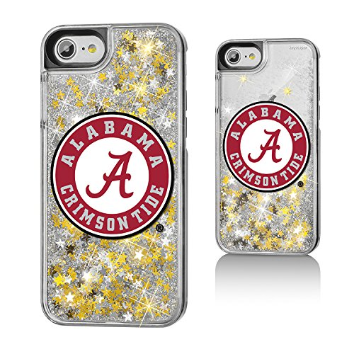 Keyscaper Alabama Crimson Tide Gold Glitter Case for the iPhone 6/6S/7/8 NCAA - Ncaa Licensed Products Basketball