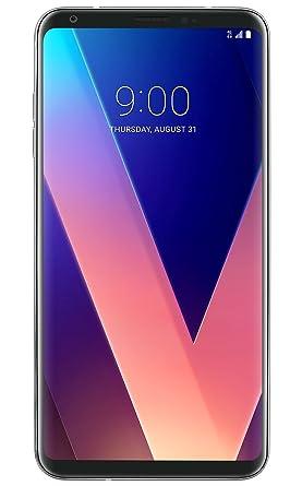 LG V30 H932-64GB - Silver (T-Mobile) (Certified Refurbished): Mobile