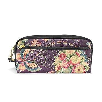 Amazon.com: Bolsas de cosméticos japonesas con patrón para ...