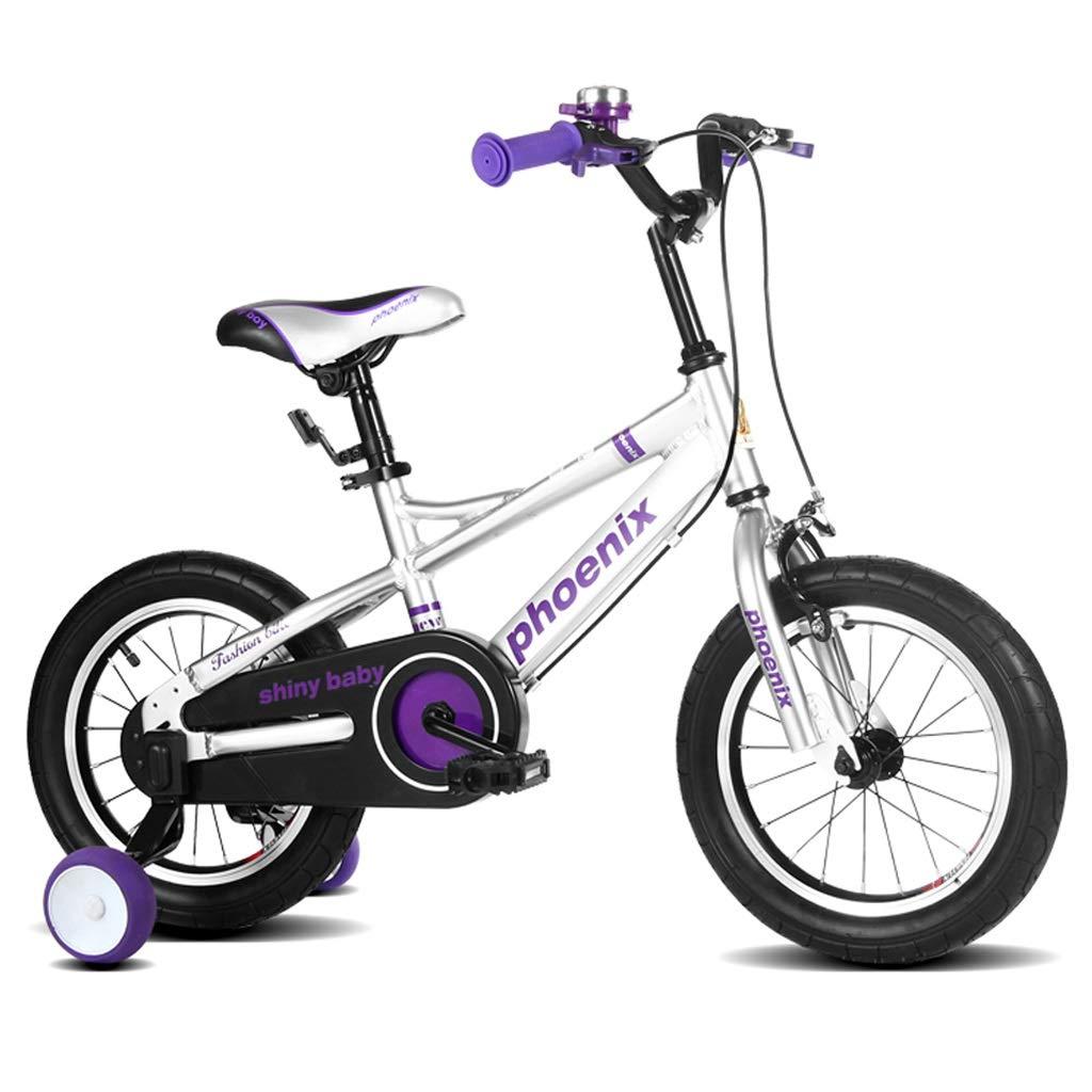 色々な 子供の自転車 ファッションの男の子と女の子のサイクリング 27歳の子供のための屋外外出 パーソナライズされた子供のペダルの自転車 子供のための最高の贈り物 (Color : inches Silver, Size Silver 子供の自転車 : 16 inches) 16 inches Silver B07Q1HCDSK, サワグン:a4e51627 --- senas.4x4.lt