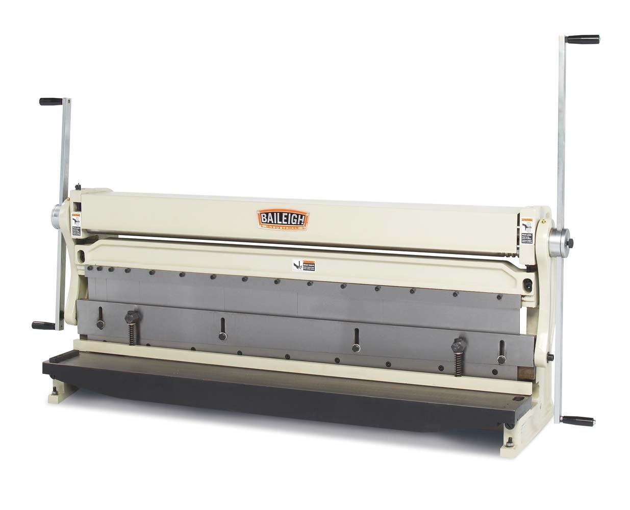 Baileigh SBR-5220 3-in-1 Combination Shear Brake Roll Machine 52 Bed Width 20-Gauge Mild Steal Capacity