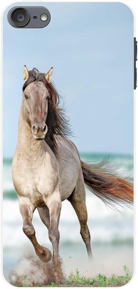 Majestic White Horse Portrait Fancy A Snuggle Superbe Magnifique /étalon Blanc Chevaux t/él/éphone Housse//Coque rigide pour t/él/éphone portable Samsung Samsung Galaxy S9+ Plus