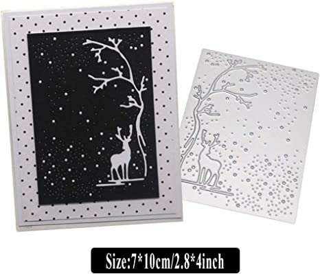 Impression Tree Dies Scrapbooking Metal Cutting Dies Paper Card Decorative