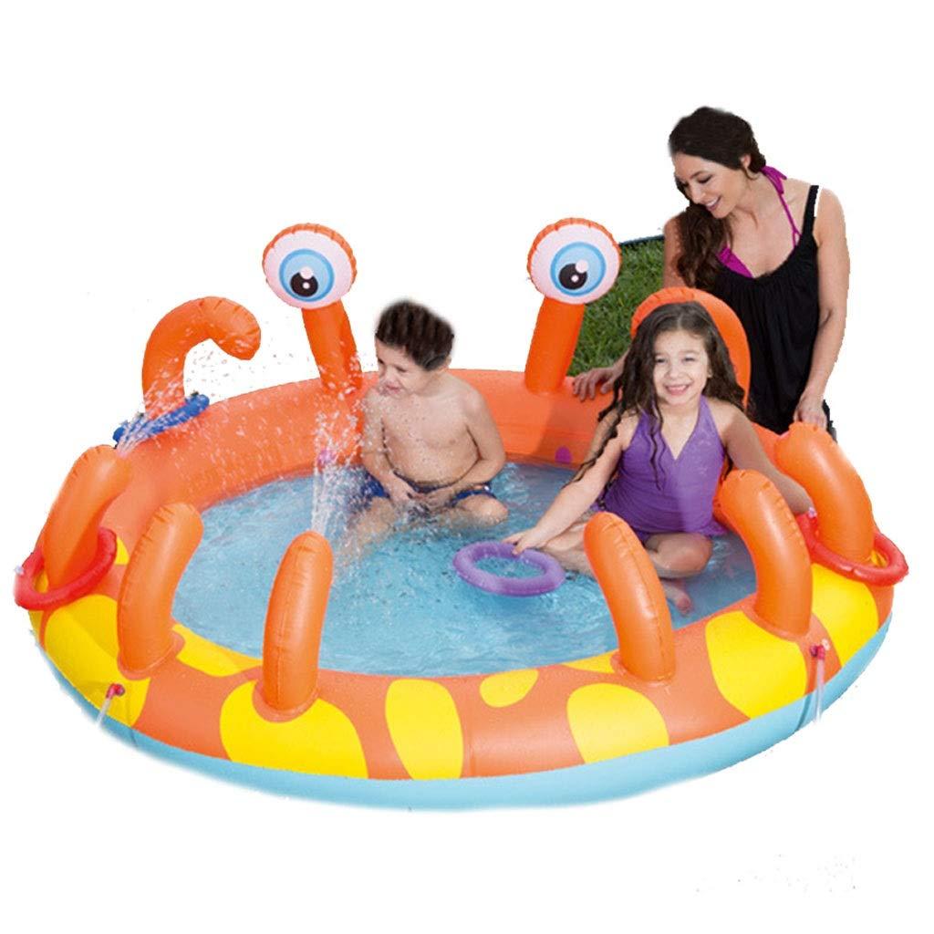 Ryg Piscinas para niños Bañera Inflable, bañera Plegable para ...