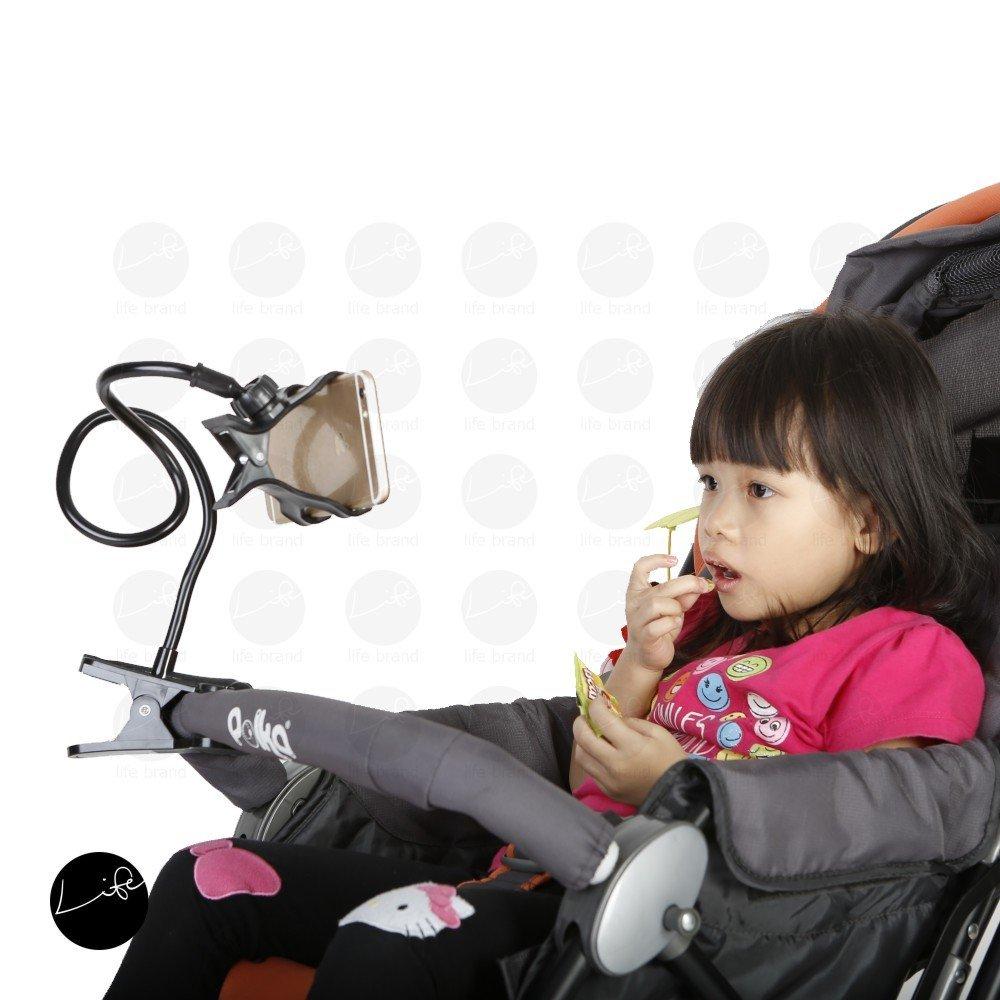 LIFE Handphone Holder FREE 4 Baby Bibs Car Seat Attachment Stroller Clip Hands Free