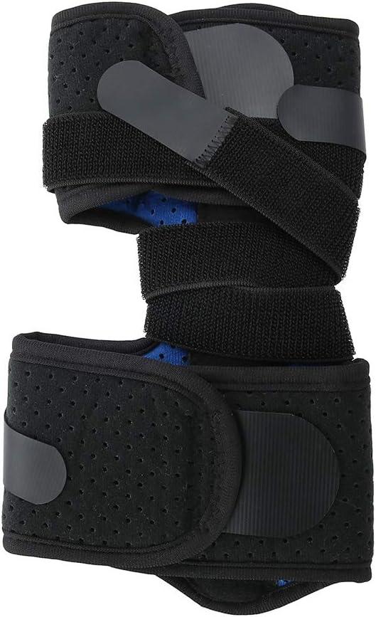 Soporte de fractura, soporte de férula de tobillo, soporte de ortesis, soporte de pie, soporte de correa de tobillo para tratar la caída del pie Una corrección de pie imperfecto,