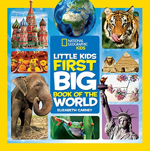 Book 1 Kids (National Geographic Little Kids First Big Book of the World (National Geographic Little Kids First Big Books))