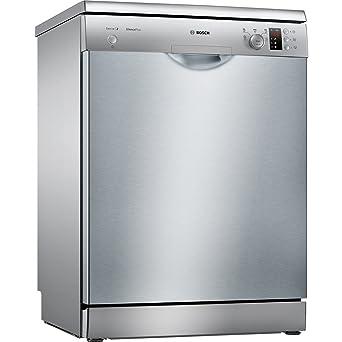 Bosch SMS25AI05E Independiente 12cubiertos A++ lavavajilla - Lavavajillas (Independiente, Acero inoxidable, Tamaño completo (60 cm), Acero inoxidable, ...