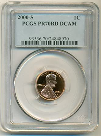 1993-S PCGS PR70DCAM Lincoln Cent Presidential Label