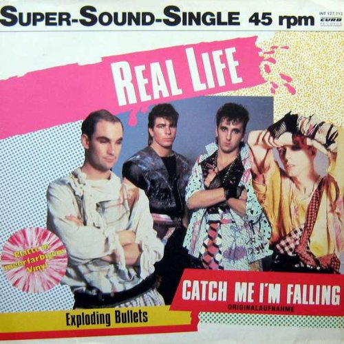 Real Life - Catch Me I'm Falling - Curb Records - INT 127.712, Wheatley Records - INT 127.712