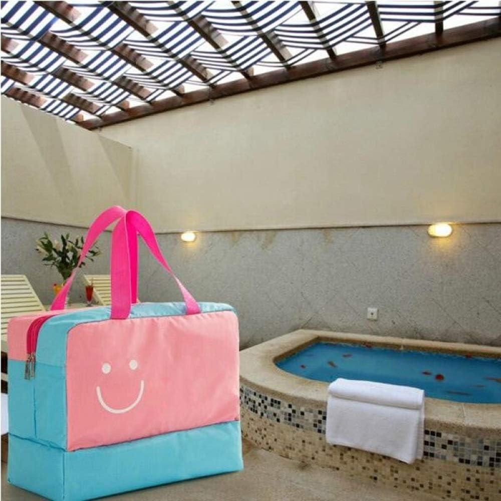 Storage Bag Travel Wet and Dry Separation 280X360X180mm Swimming Waterproof Hot Spring LiYao Washing Bag Size : #2