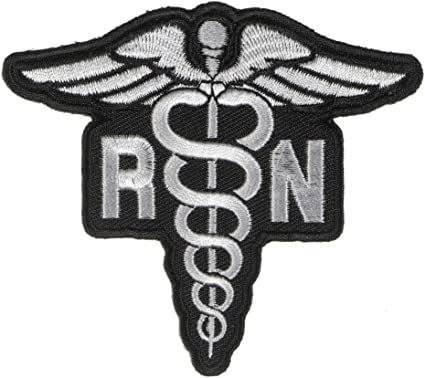 "/""NURSE/"" Iron On Patch Medical Profession Nurses"