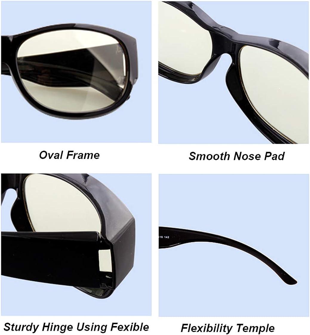 Optics Occhiali Luce Blu con Filtro Anti Luce Blu Anti Affaticamento Degli Occhi Antiriflesso Leggero Protezione UV Radioprotezione per Vari Schermi di Prodotti Elettronici