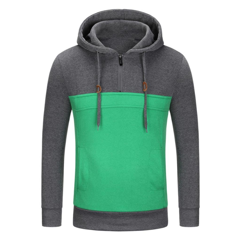 Leedford Men's Outwear SHIRT メンズ B07DJZY3GV グレー X-Large